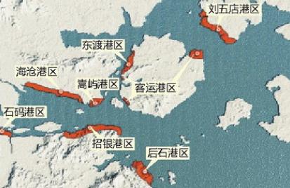 马祖列岛旅游地图